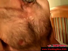 Straight mature bear rednecks blow cock