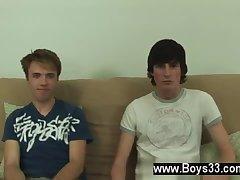 Cute boys stripping