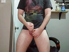 A classic angle with a classic cumshot
