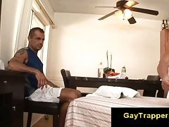Massage gay guy ready to seduce straight guy