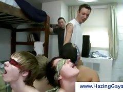 Humiliating gay hazing rituals
