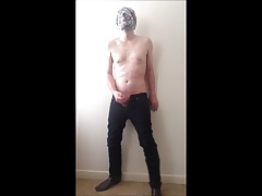 Loneking666 stripping out of suit for you.
