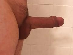 Growing cock normal speed