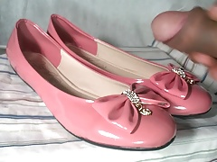 Cum In Pink Flats with Bow