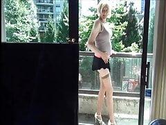 Naughty Gigi - pics from still wobbly in heels