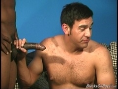 Tony gets his ass fucked like never before in threesome gay sex video