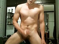 Uncut Muscular Cum