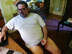 Verbal Daddy bear cumming