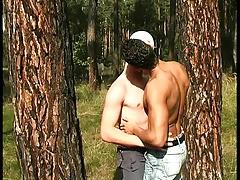 Three boys in Wood