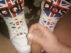 Men Feet (Adidas JS Sneakers)