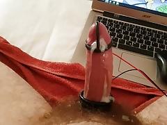 PES electro estim handsfree orgasm HFO