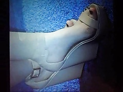 Dove Cameron Feet Cum Tribute