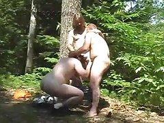 Randy Trio Sucking In A Wood