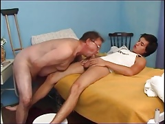 Old Man Fucked by Young Boy