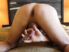 cock milking cum