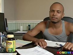 Xenar Gets Fucked By Two Horny Black Guys