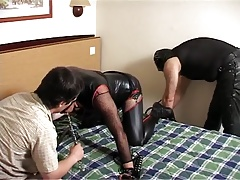 leather sissy