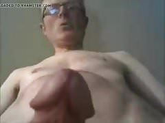 French daddy cums again.