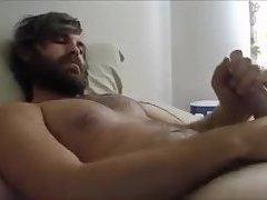 Hot beard cum