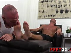 Dev Worships Jason James' Feet