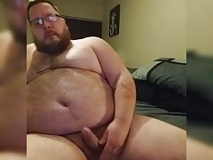 Cute Bear Cock and Ass Show
