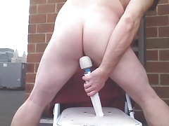 JOEYDs FAT HITACHI ALMOST up his cute butt
