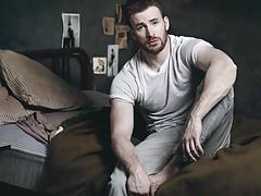 Chris Evans Jerk Off Cum Challenge Gay Celebrity Compilation