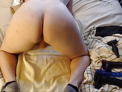 First Booty Shaking Video White Bubble Butt Boy