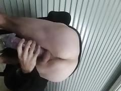 Pumping my big horny cock
