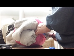 Fucking Homemade Toy and Panties