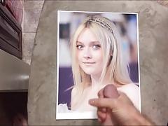 Dakota Fanning Cum Tribute 018