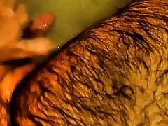 My dick in bath