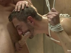 Awesome gay BDSM games with Bryan Cole and Connor Maguire