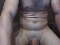 Thick piss pump on thick lad