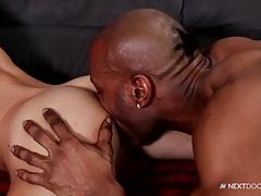 NextDoorEbony Big Black Cock for His Ass