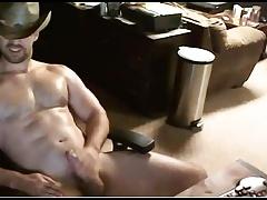 sexy cowboy cums