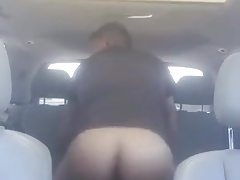 Best Friends Fucking in a Car