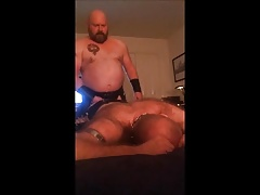 DaddyBruin fucking leather bear hole.mp4