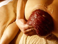 Cumming on and in a Prolapse
