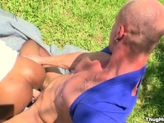 Mitch Vaughn fucks Jp Richards's black asshole and mouth