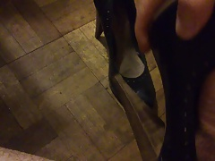 Cum on well worn new look heels