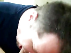 He loves to suck and swallow