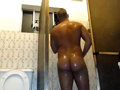 hot guy taing shower