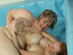 Wrestling adult bbw plowed after winning catfight