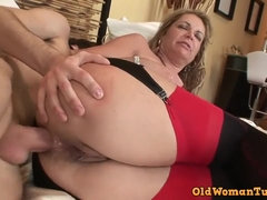 Kelly Leigh let young boy fuck her in hard way