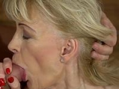 Aroused gilf takes cum eruption
