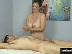 Busty MILF Charlee Chase Loves Happy Endings