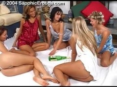 Sapphic Erotica- Spin the Bottle - ANALDIN