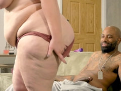 Black guy banged fat bitch with the great pleasure