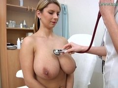 Mind-Blowing Busty Czech Vixen Comes To Sexy Doctor